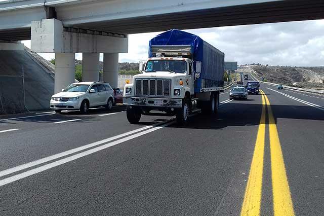 Suman Edomex y Puebla, 50 % de los asaltos a transportistas