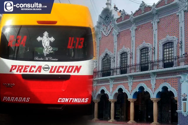 Exceso de transporte pirata en Tehuacán genera corrupción