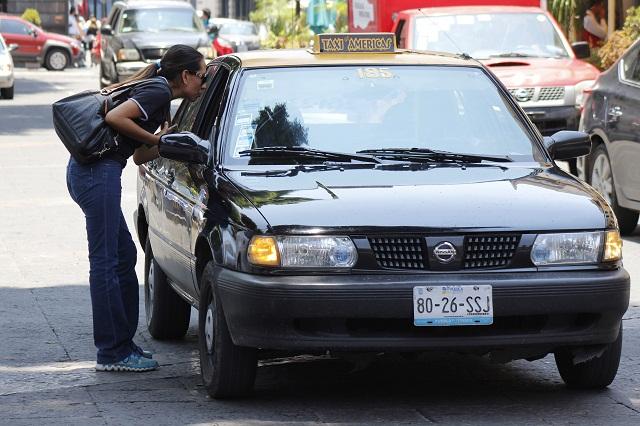 Es inevitable alza de tarifas en el servicio de taxis, anuncia CTEP