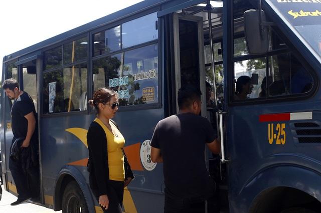 Posponen para el domingo anuncio sobre aumento al pasaje en Puebla