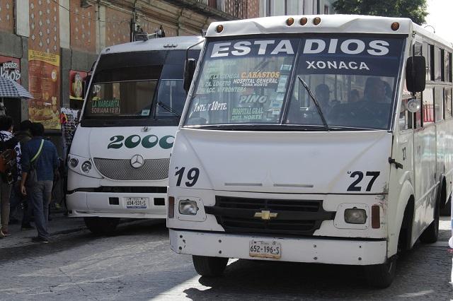 Transporte público no requiere pasar por el Centro Histórico: vecinos