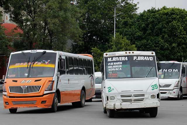Piden que firma internacional certifique a choferes del transporte