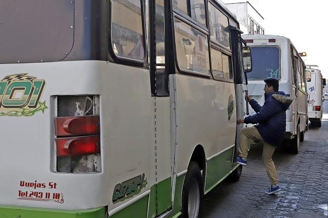 Por redes llaman a paro del transporte: SIMT lo descarta