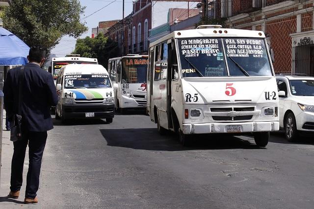 Retirarán unidades del transporte público que contaminen: SIMT