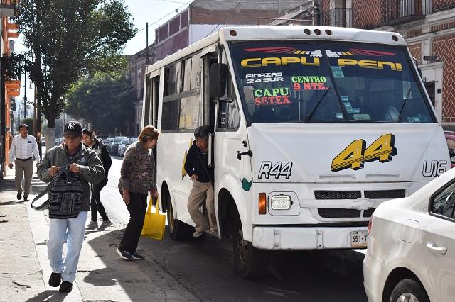 Fracasa mejora de transporte y exigen castigo a concesionarios