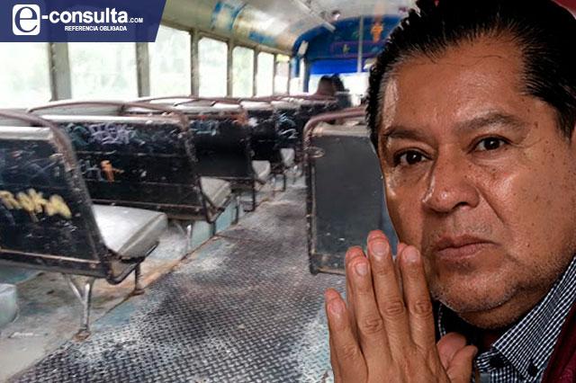 Más de un año pasó y el transporte público sigue anticuado e inseguro