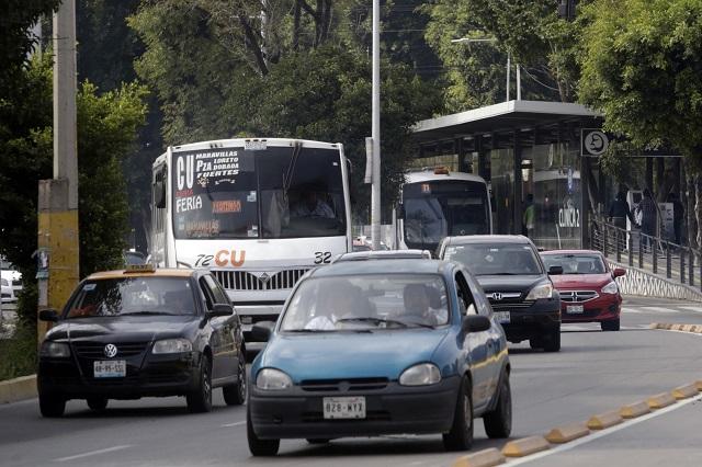Aún invaden rutas tradicionales trayecto de línea 3 del Metrobús