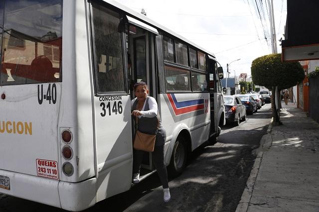 Protestan en Bellavista, El Mirador y Anzures por caos de la línea 3