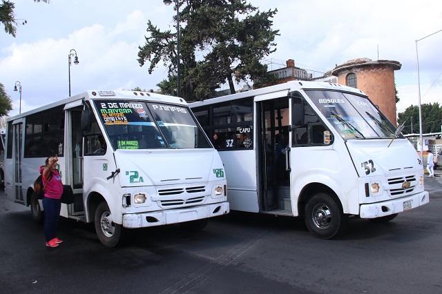Tocará a interino autorizar el aumento al transporte público