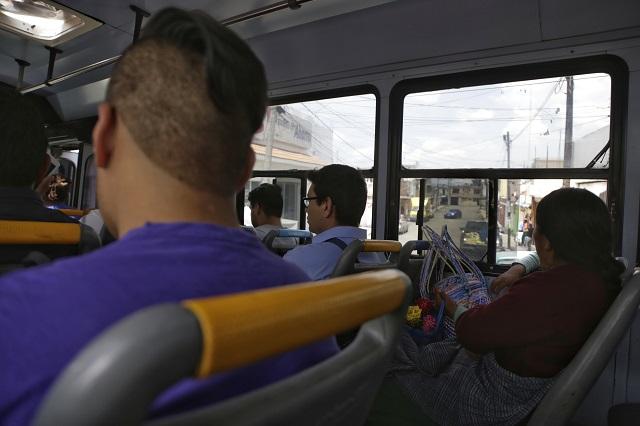 Hasta 7 asaltos a transporte público en las últimas 24 horas en Puebla