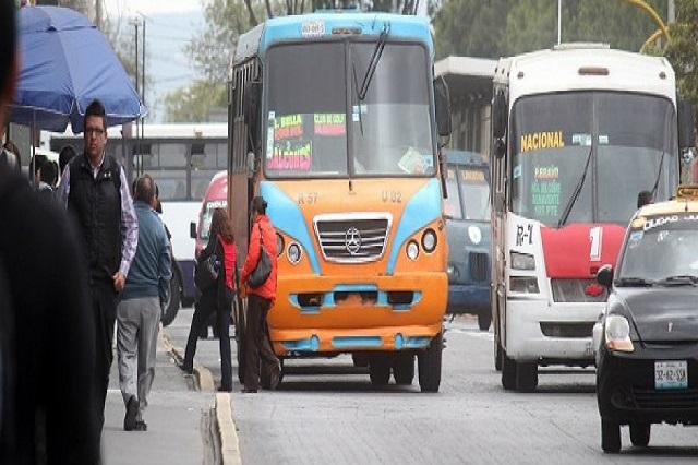 28 de Octubre ve riesgo de quiebra por retiro de rutas de transporte