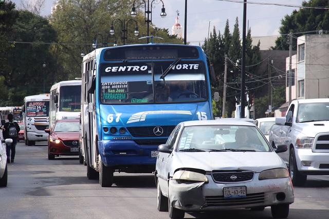 Arranca con 5 rutas transporte nocturno en Puebla