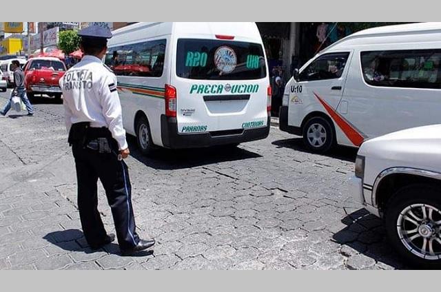 Colectivas de Tehuacán circulan sin monitoreo pese a contar con el equipo