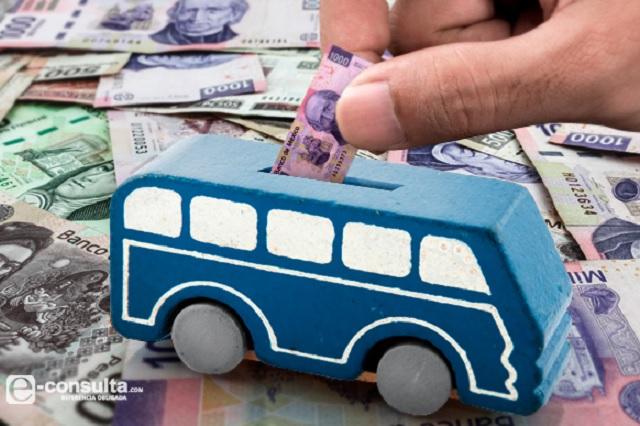 Subsidian a transportistas de Puebla con 54 mdp en 9 meses