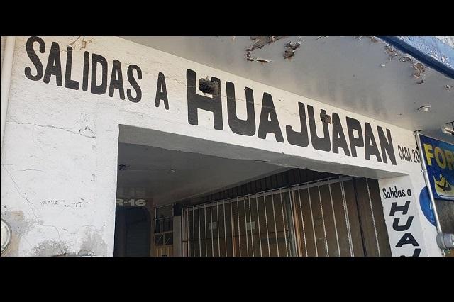 En Acatlán suspenden servicio de transporte público por Covid-19