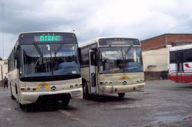 Acusan mal manejo del recurso para transporte en Cholula