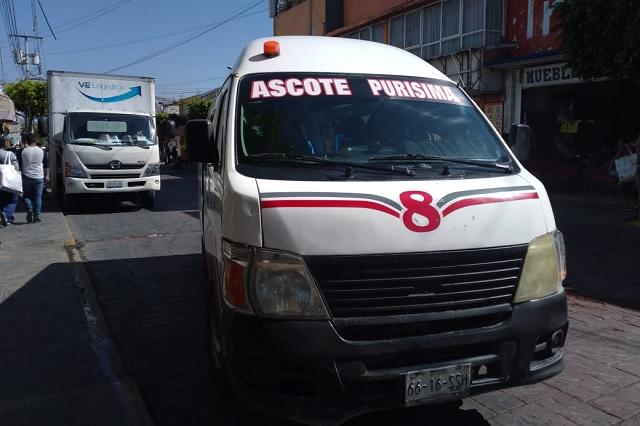 Decreto estatal causa dudas en trasporte público de Tehuacán