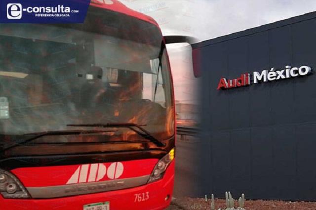 Reanudan pago de peaje para autobuses con personal Audi
