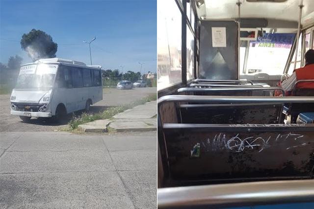 Xonaca y Central de Abastos, zona de asaltos contra usuarios de ruta 19