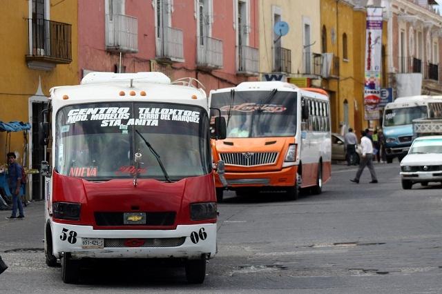 Sacar del centro al trasporte público está cerrando negocios: Canaco