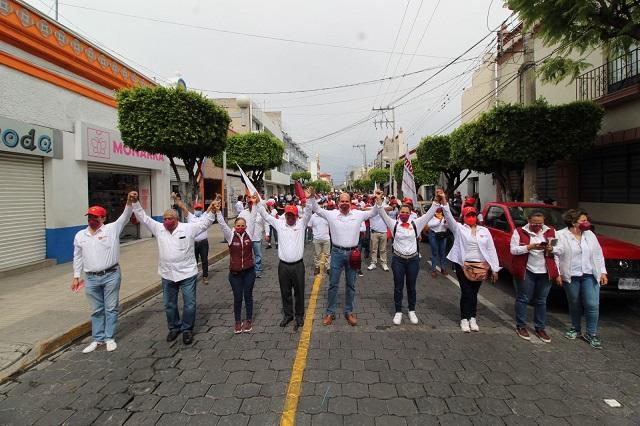 Mejorar vialidades y servicio de transporte de Tehuacán: Pedro Tepole