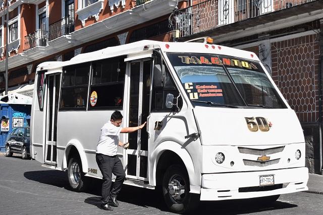 Transportistas evitarán multas si modernización está en trámite