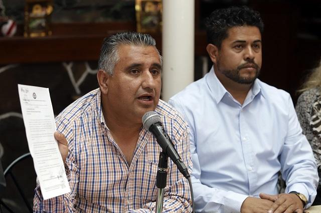 En retenes falsos y oficiales de Puebla roban a transportistas