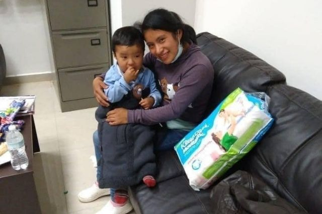 Tras 40 días hallan a niño que desapareció en mercado de Chiapas