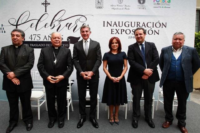 Inauguran la exposición Celebrare: 475 años del traslado de la diócesis