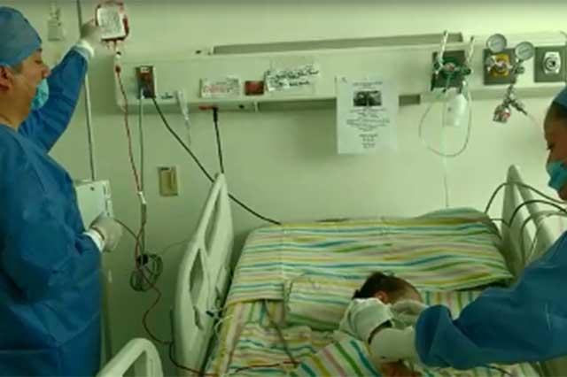 Ofrecerá Issstep trasplante de células madre para niños con cáncer