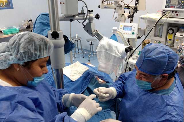 Exitosos trasplantes de córnea realiza el Issstep en Puebla