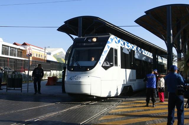 Por daños al Tren Turístico retiran rutas en zona del Mercado Hidalgo