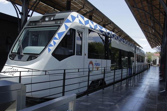 El Tren Turístico a Cholula, el de recorrido más corto en el país