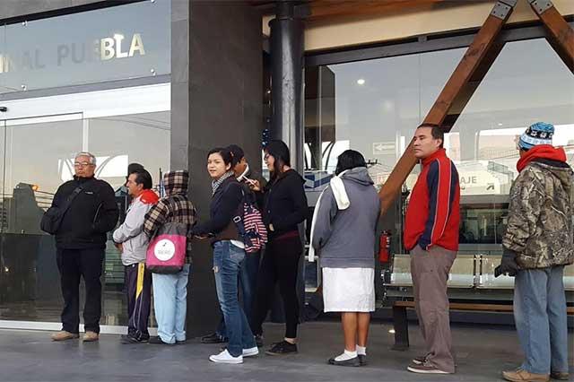 Siempre no da su primer viaje el Tren Turístico Puebla-Cholula