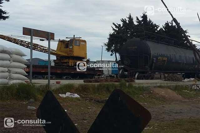 Se fuga amoniaco de un vagón en Cañada Morelos
