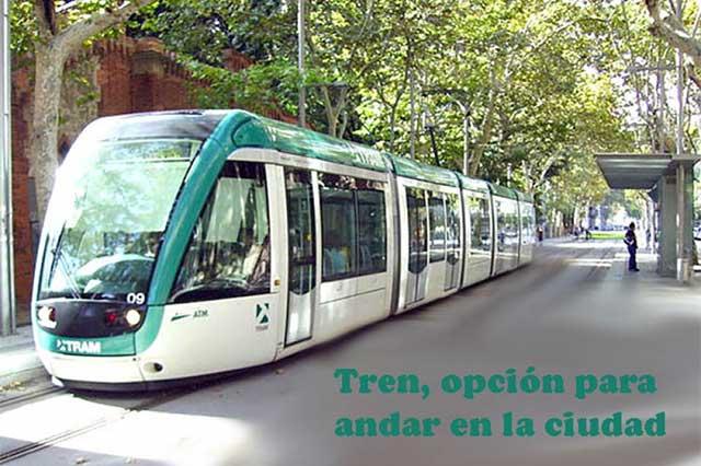 Tren, opción de movilidad en grandes urbes y países