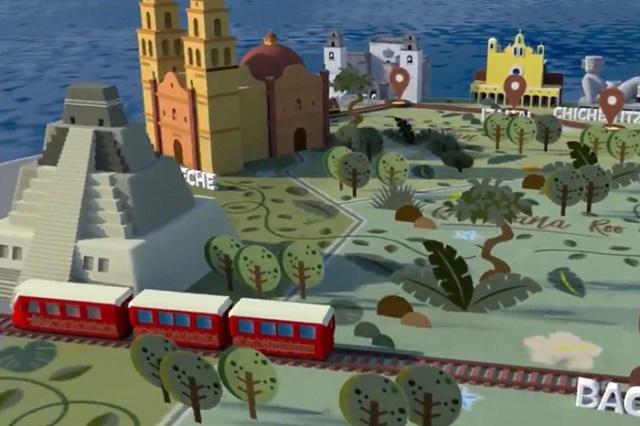 Propone INAOE al gobierno estatal ampliar Tren Maya a Puebla