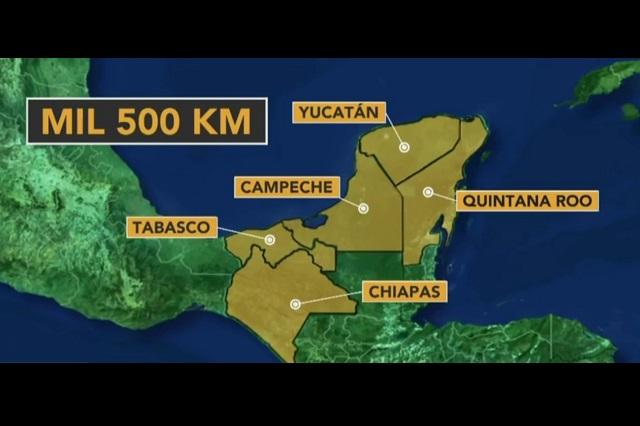 Tren Maya interesa a inversionistas norteamericanos, dice Ebrard