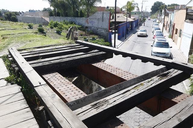 Costará 25 mdp más obra del Tren de Puebla a Cholula