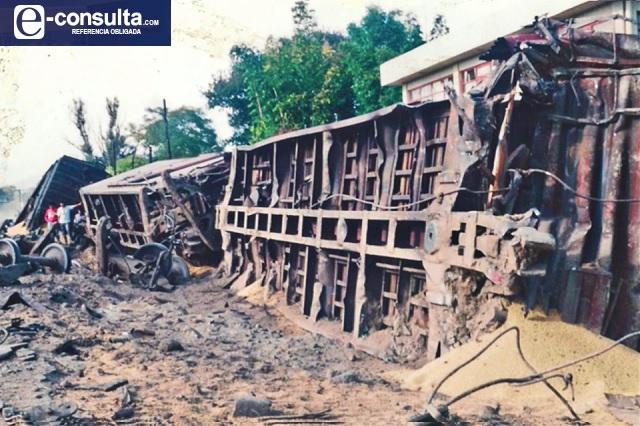 """Reviven """"trenazo"""" de Tehuacán que dejó 38 muertos y 22 heridos"""