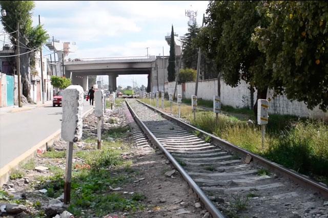Sin atractivo y olvidada la ruta del Tren Turístico Puebla-Cholula