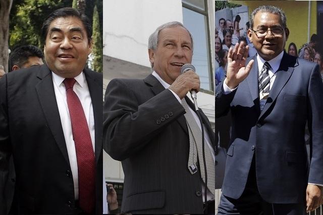 Arrancan Barbosa, Cárdenas y Jiménez pelea por la gubernatura