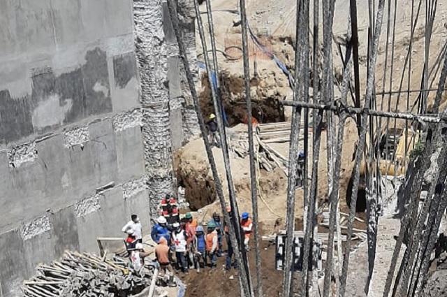 Mueren 3 hombres en derrumbe de obra en Texmelucan