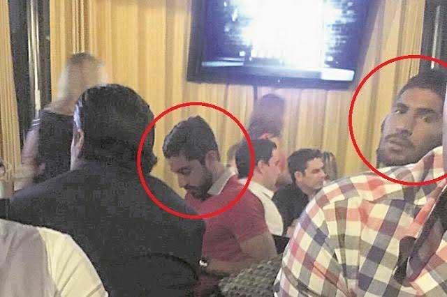 Jugadores del Tri aprovechan descanso para relajarse en un bar