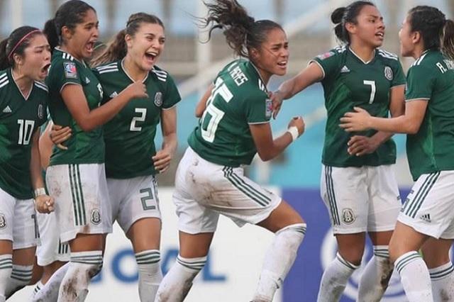 Tri Femenil sub-20 vence a Brasil en la Copa del Mundo Francia 2018