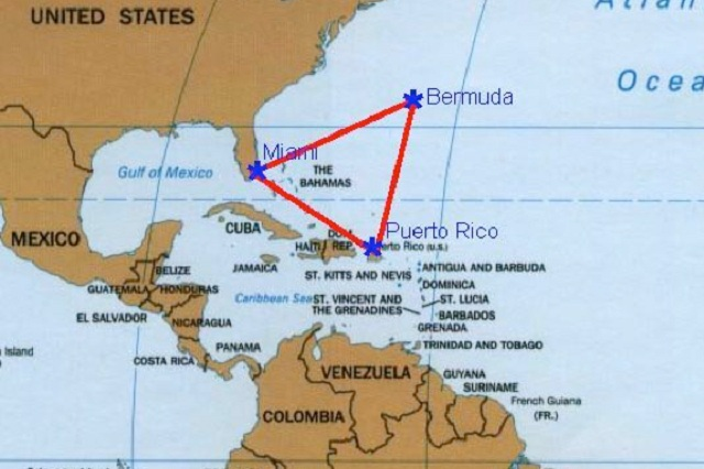 Explican por qué se hunden barcos en el Triángulo de las Bermudas