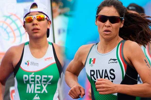 Mexicanas abandonan competencia de triatlón en Tokio 2020