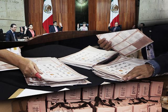 Ordena TEPJF recuento voto por voto y casilla por casilla en Puebla
