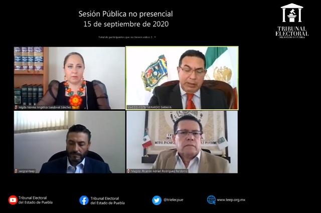 Resuelve TEEP a favor de junta de Tlacotepec y amonesta al alcalde