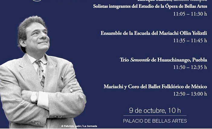 Trío poblano participa en homenaje hoy a José José en Bellas Artes